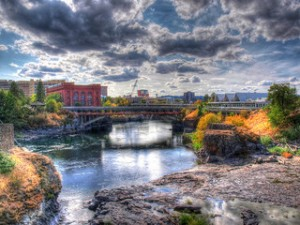 HDR of Spokane