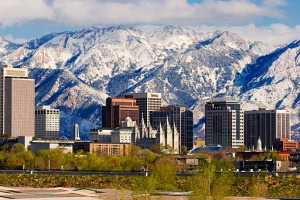 Salt Lake City Skyline, Utah